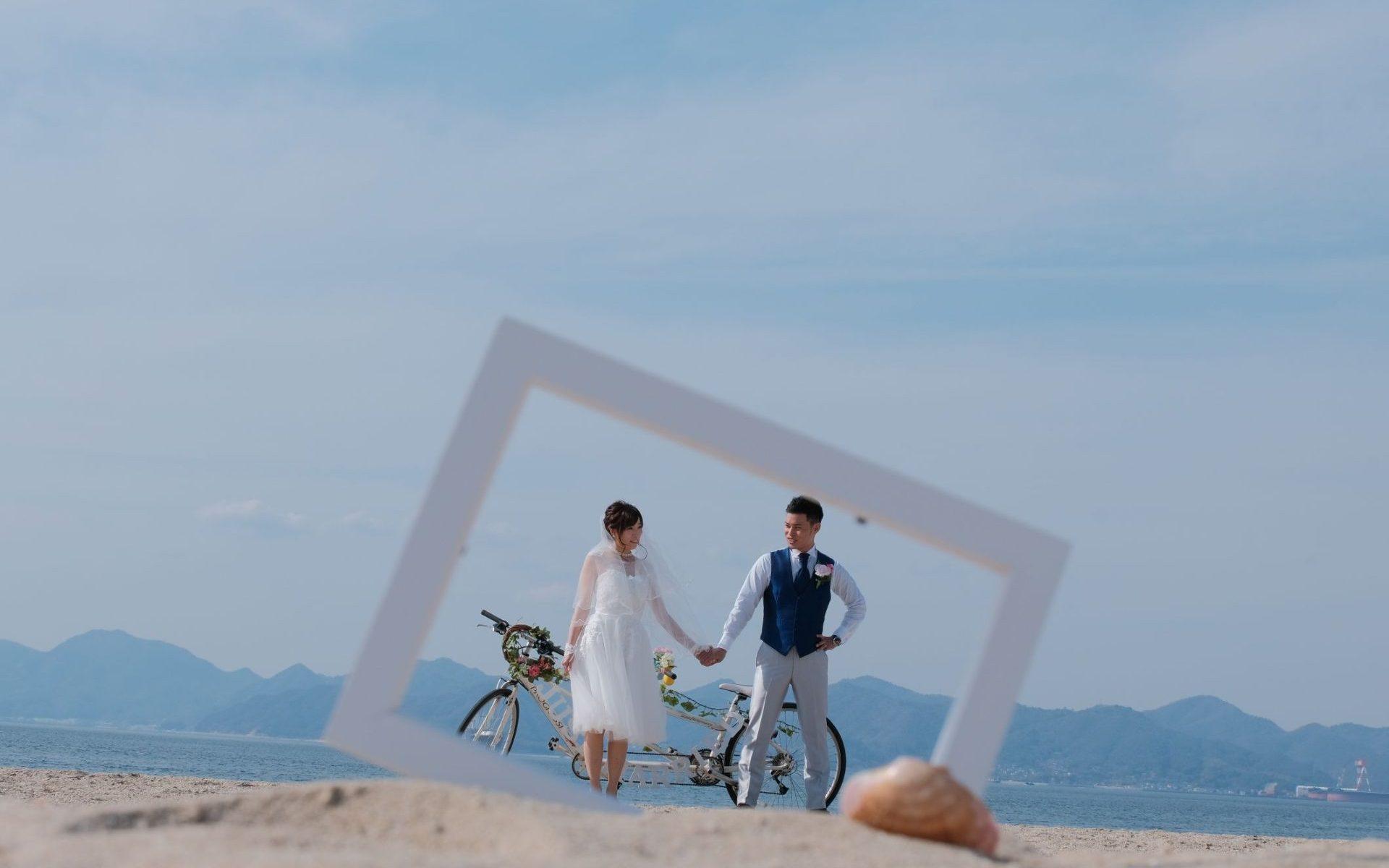 しまなみ海道 新婚旅行
