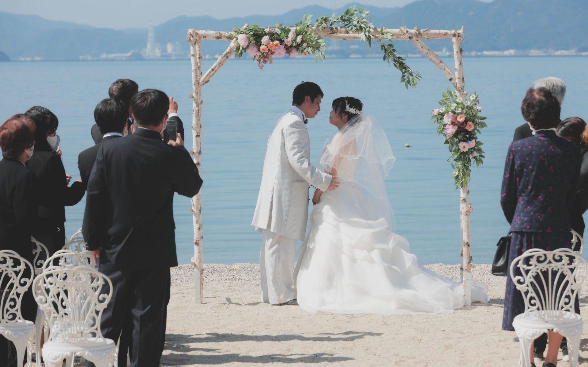 尾道 結婚式@サンセットビーチ